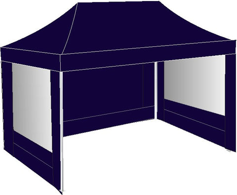 3M x 4.5M Navy Blue Pop Up gazebo