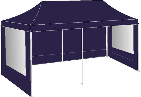 3M x 6M Navy Blue Pop Up Gazebo