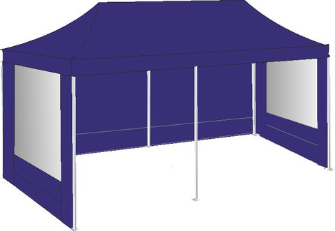 3M x 6M Royal Blue Pop Up Gazebo