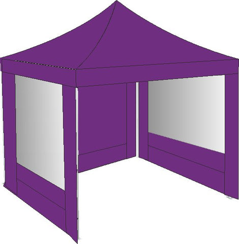 3M x 3M Purple Gazebo