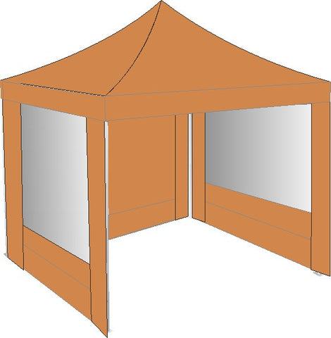 3M x 3M Brown Pop Up Gazebo