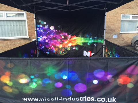 Professional Printed Pop Up Gazebos