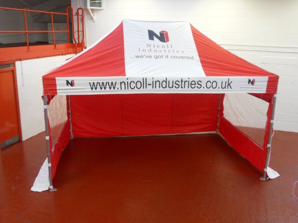 3M x 4.5M Pop Up Gazebo Sidewalls