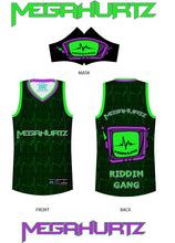 Load image into Gallery viewer, Official Megahurtz Riddim Gang Basketball Jersey