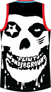 The Brain Eaters / Flint Underground Limited Edition Basketball Jersey LE 25