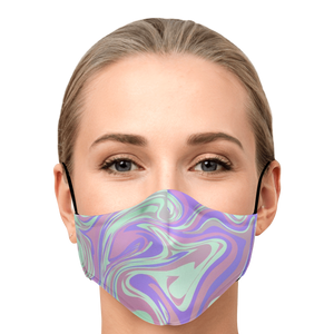 Drip Paint Face Mask - 4 color variations
