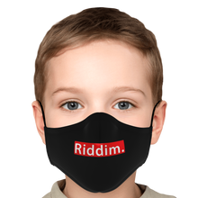 Load image into Gallery viewer, Riddim. Face Mask with PM 2.5 Filters