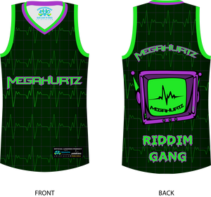 Megahurtz Riddim Gang official Basketball Jersey