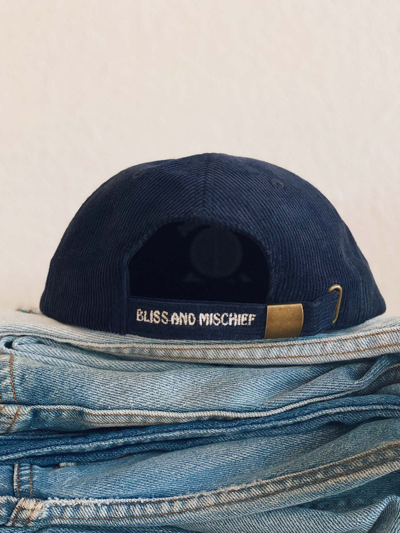 Bliss And Mischief-'Give Bliss A Chance' Corduroy Hat