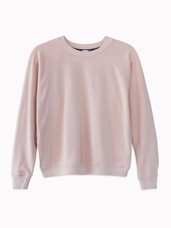 Raglan Sweatshirt in Rose