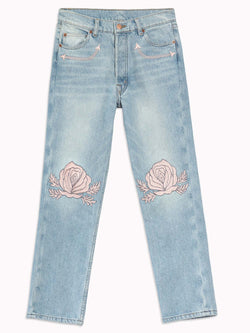 Song of the West Denim in Pink - Bliss And Mischief