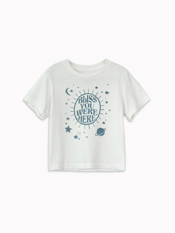 'Bliss You Were Here' Kids Tee - Bliss And Mischief