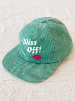 Bliss And Mischief-'Bliss Off' Corduroy Hat