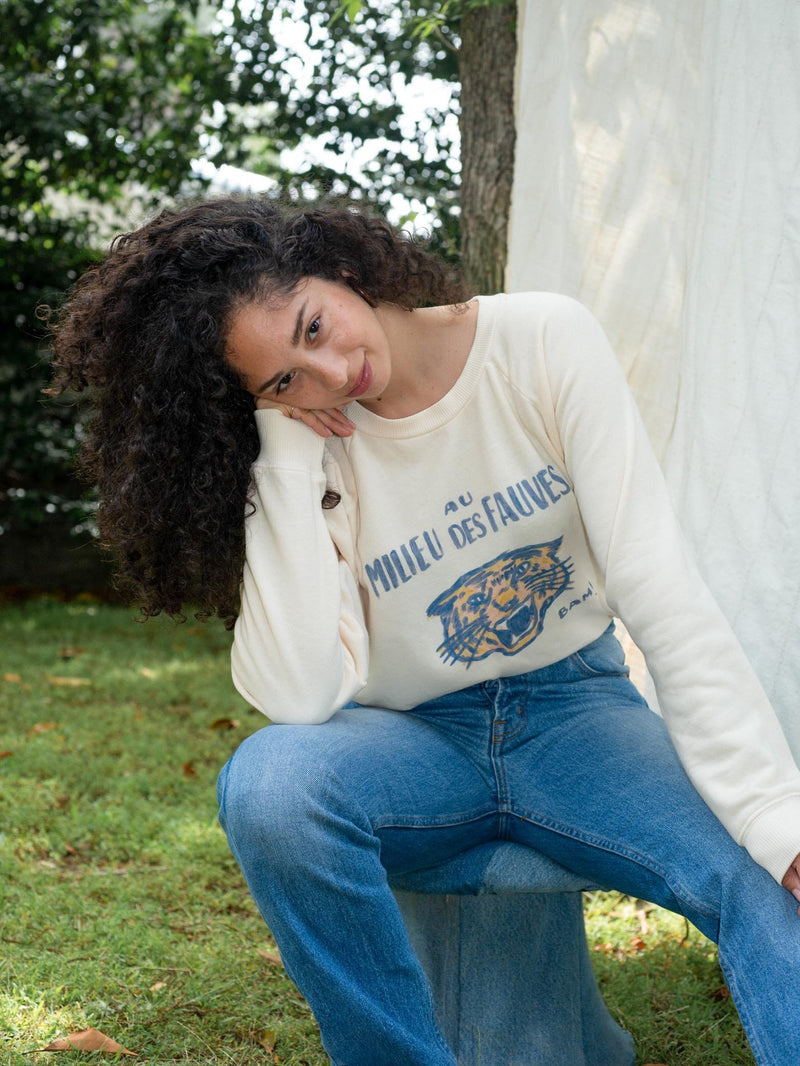 Wild BAM Raglan Sweatshirt - Bliss And Mischief
