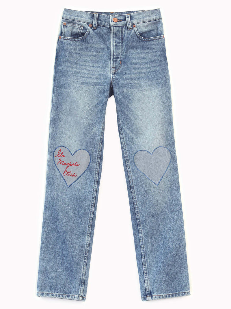 Bliss And Mischief - Love Patch Denim