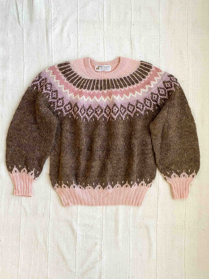 Vintage Fairisle Sweater (S-L)