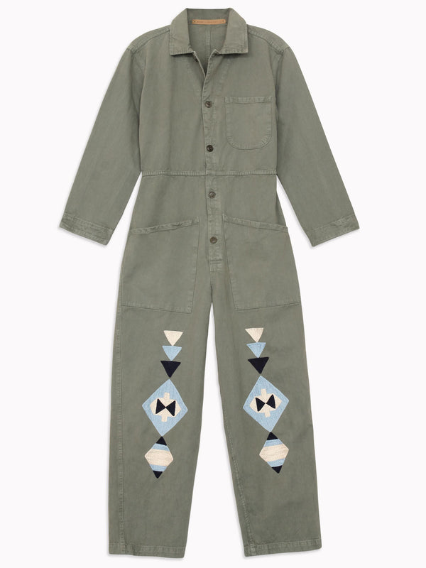 Bliss And Mischief - Horizon Embroidered Flight Suit