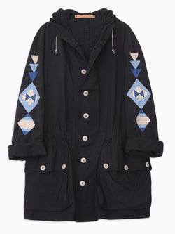 Bliss And Mischief - Horizon Line Embroidered Parka
