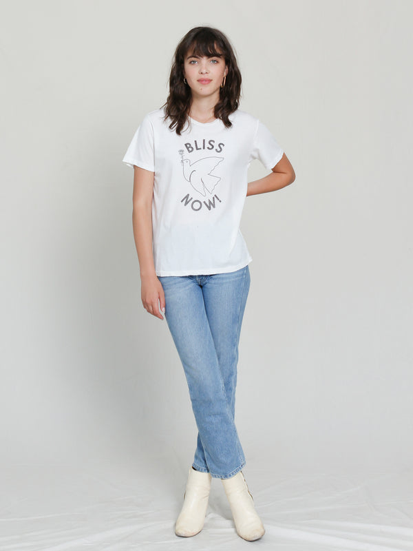 Bliss And Mischief 'Bliss Now' Destroyed Tee