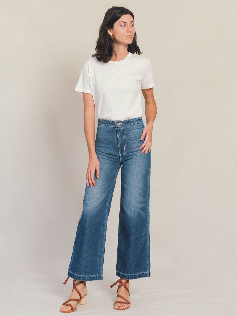 Denim Painter Pant - Bliss And Mischief