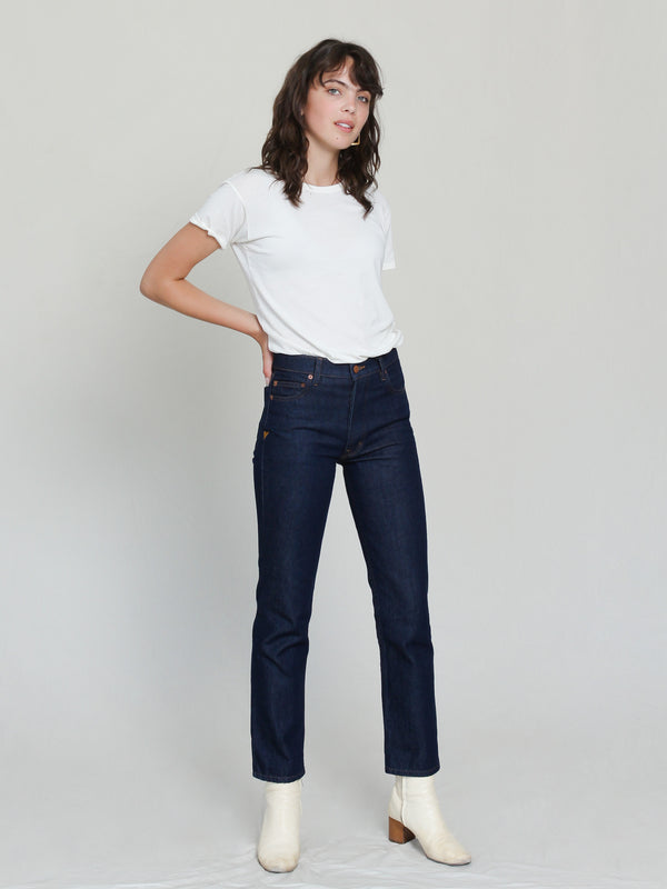 Bliss And Mischief Collector Fit Denim in Rinse
