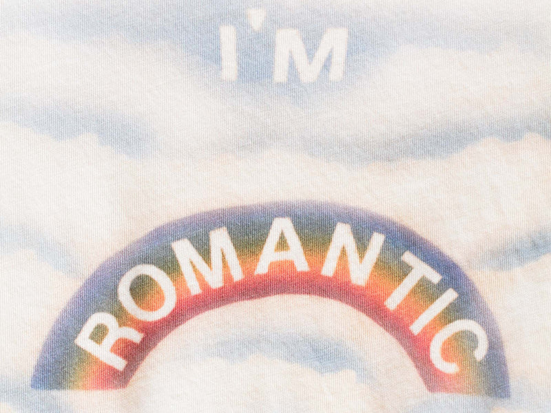 'I'm Romantic' Slim Tee