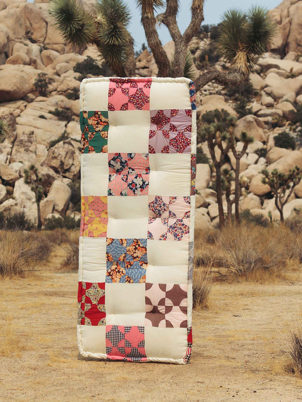 Bliss And Mischief-Vintage Quilt Top Cushion