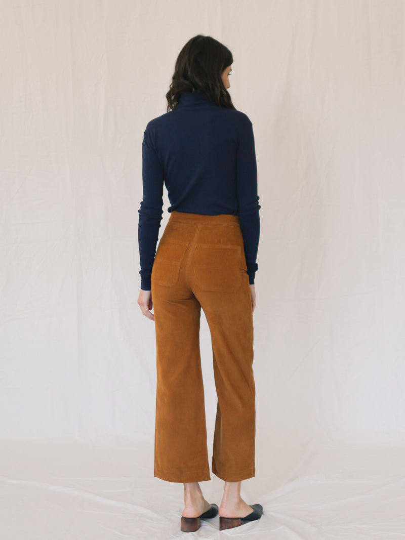 Bliss And Mischief Shrine Corduroy Pant in Honey
