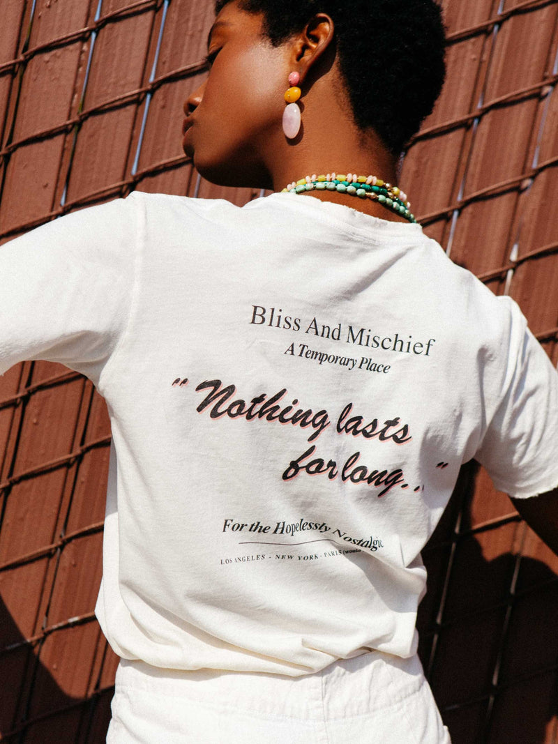 Bliss And Mischief - Hopelessly Nostalgic Tee
