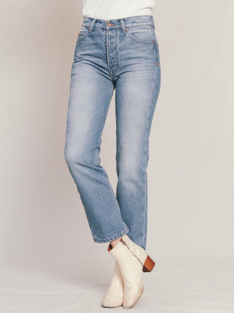 Collector Fit Denim in Medium Wash - Bliss And Mischief