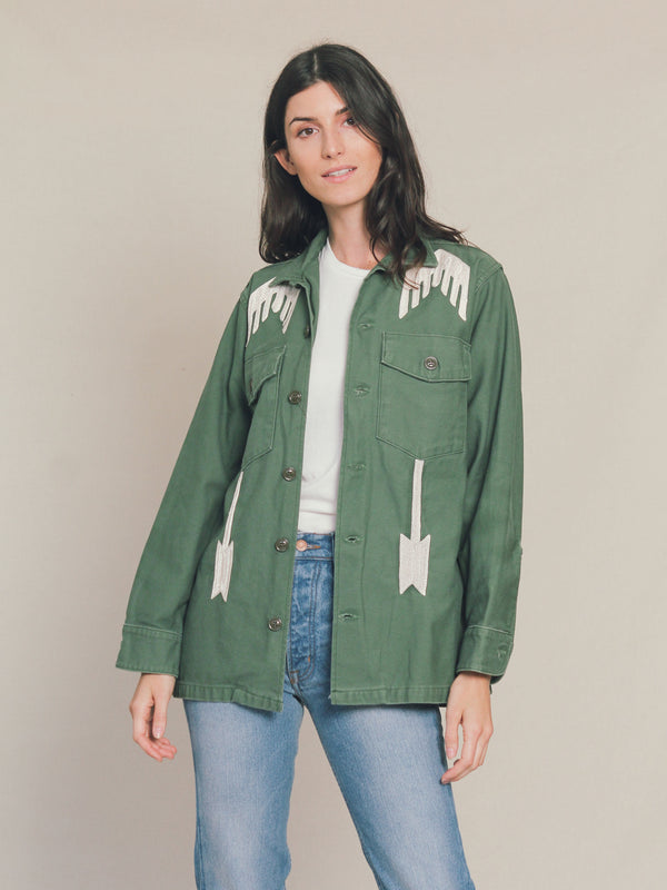Westing Sun Embroidered Jacket - Bliss And Mischief