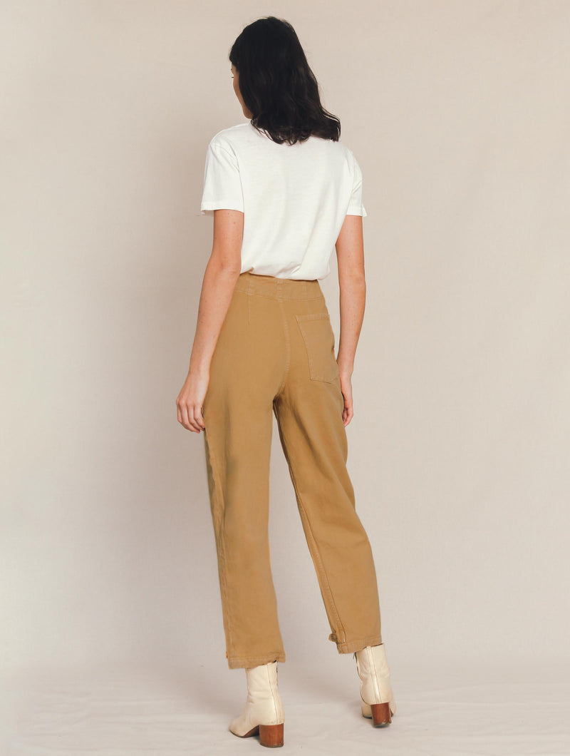 Artist Tab Pants in Khaki