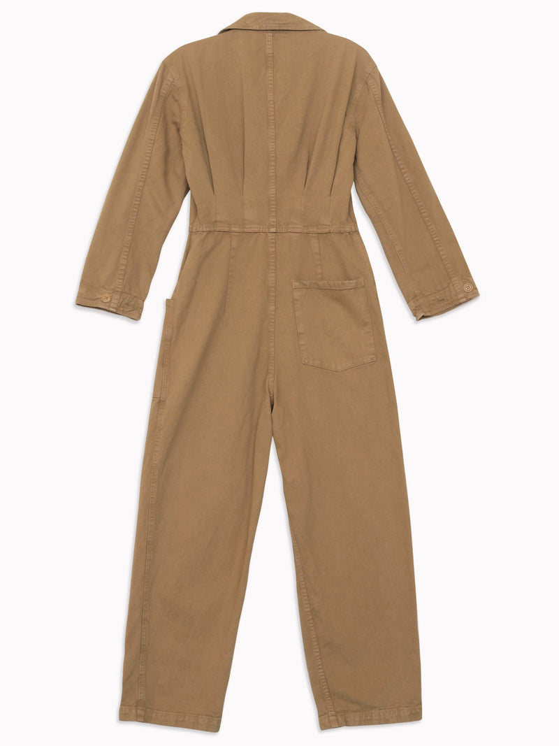 Bliss And Mischief - Long Flight Suit in Khaki