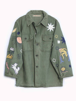 Major Arcana Embroidered Jacket - Bliss And Mischief
