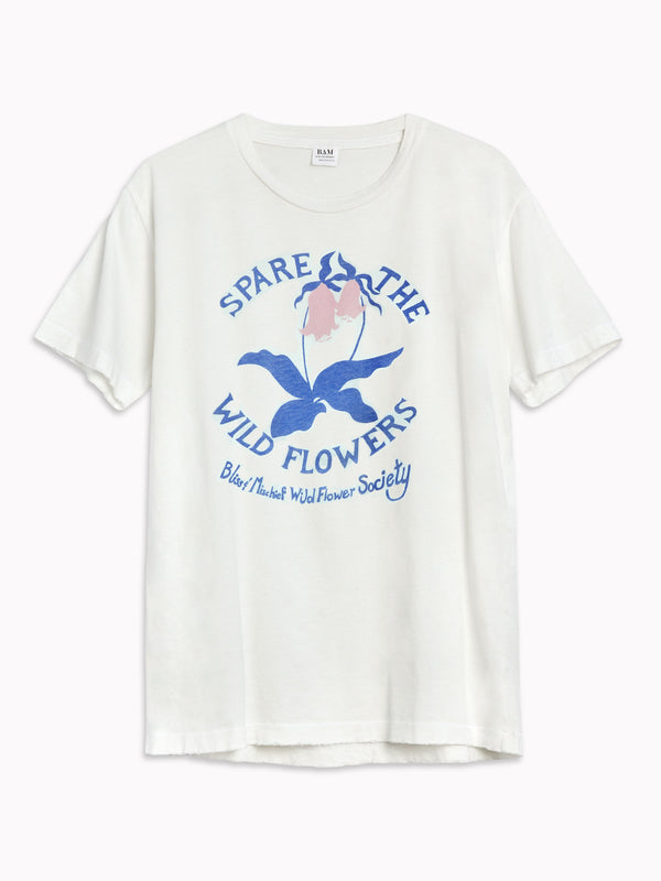 'Spare the Wildflowers' Tee
