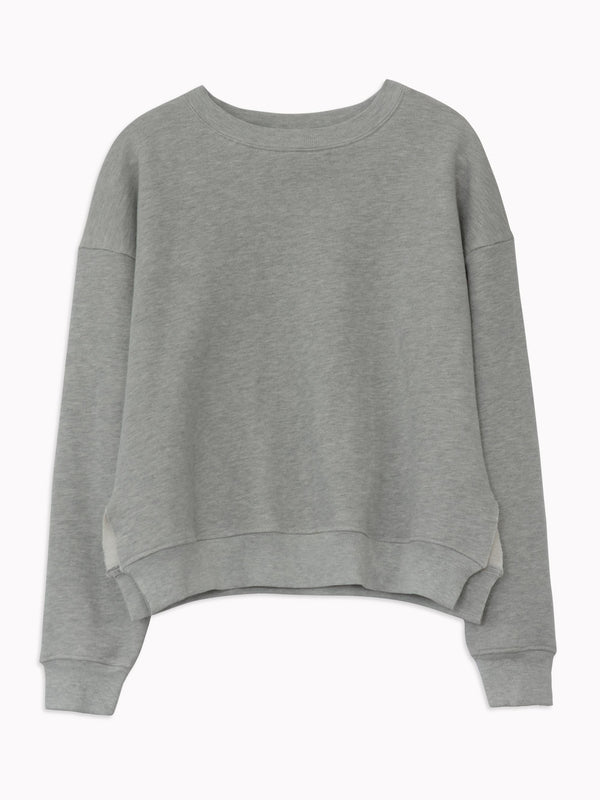 Studio Sweatshirt in Heather Grey