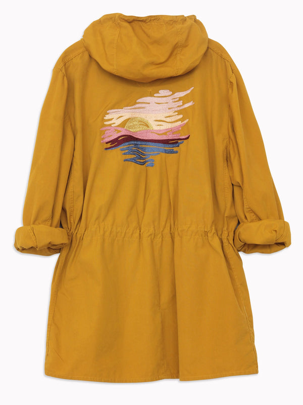 Bliss And Mischief - Sunset Embroidered Parka