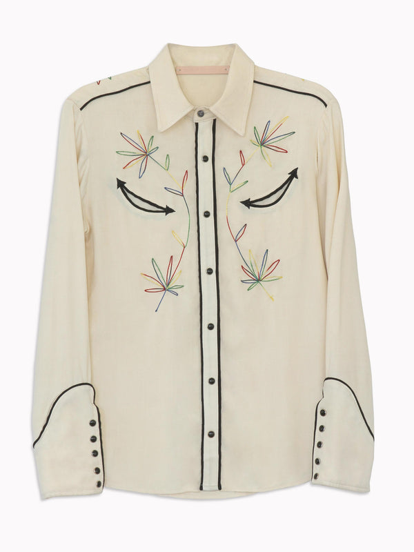 Sweet Jane Embroidered Western Shirt - Bliss And Mischief
