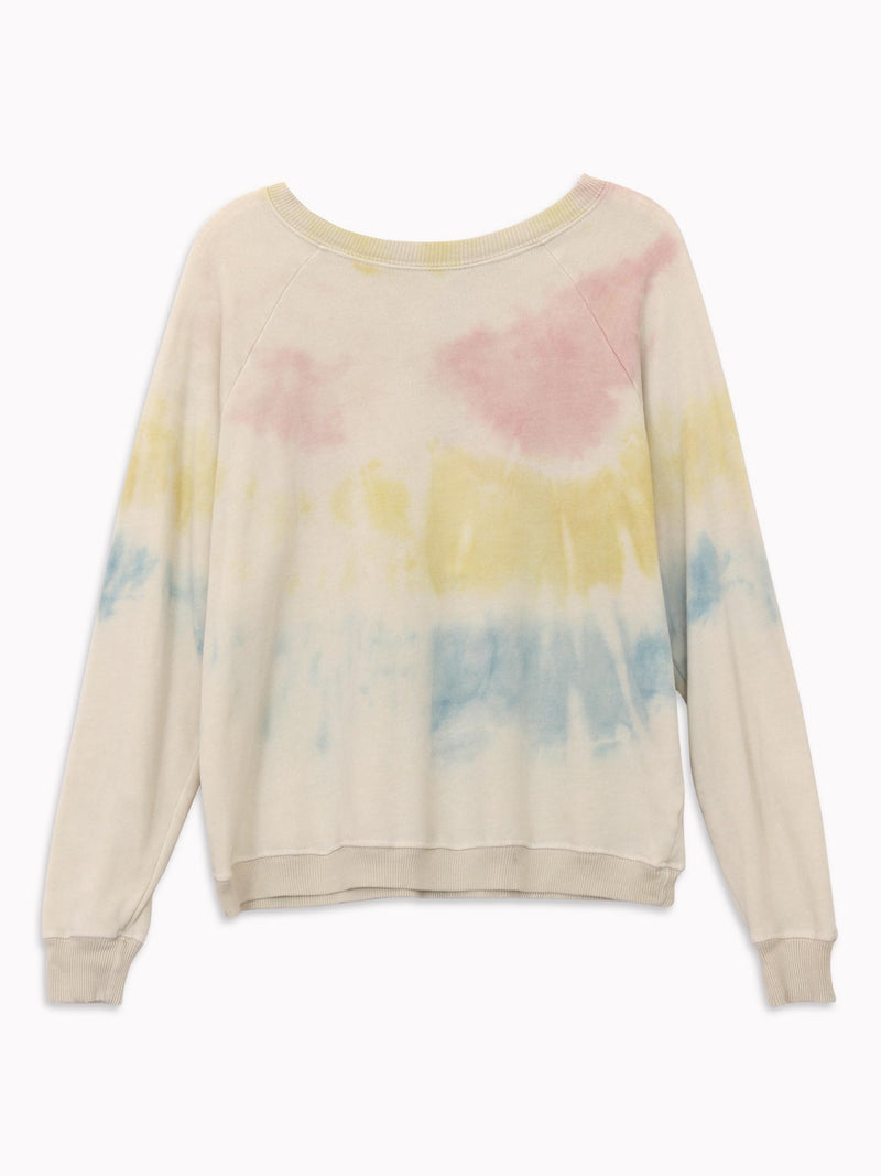 Bliss And Mischief - Tie Dye Raglan Sweatshirt