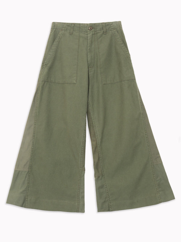 Bliss And Mischief - Wide Leg Army Pant