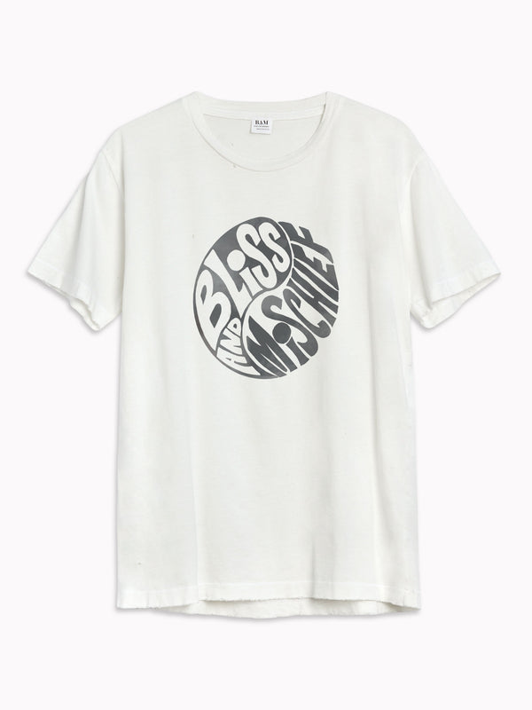 Yin Yang Destroyed Tee