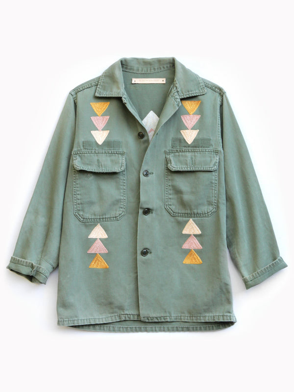 St. Ellen Embroidered Jacket - Bliss And Mischief