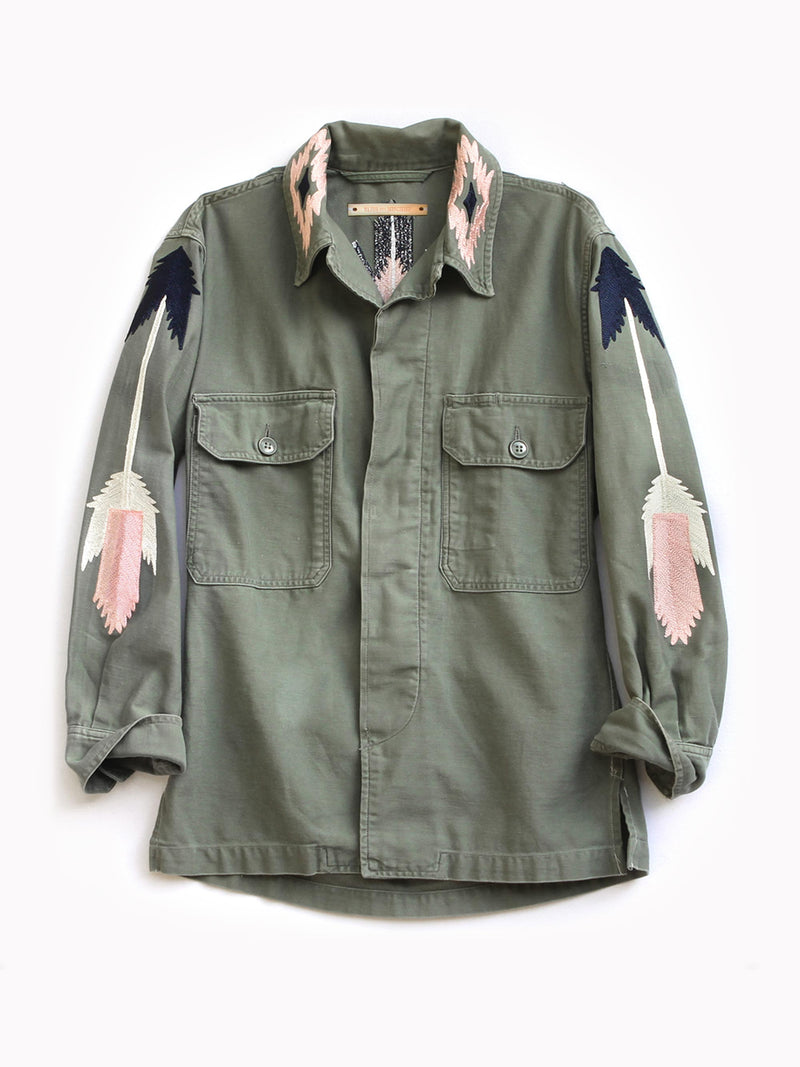 East at Dawn Embroidered Jacket - Bliss And Mischief