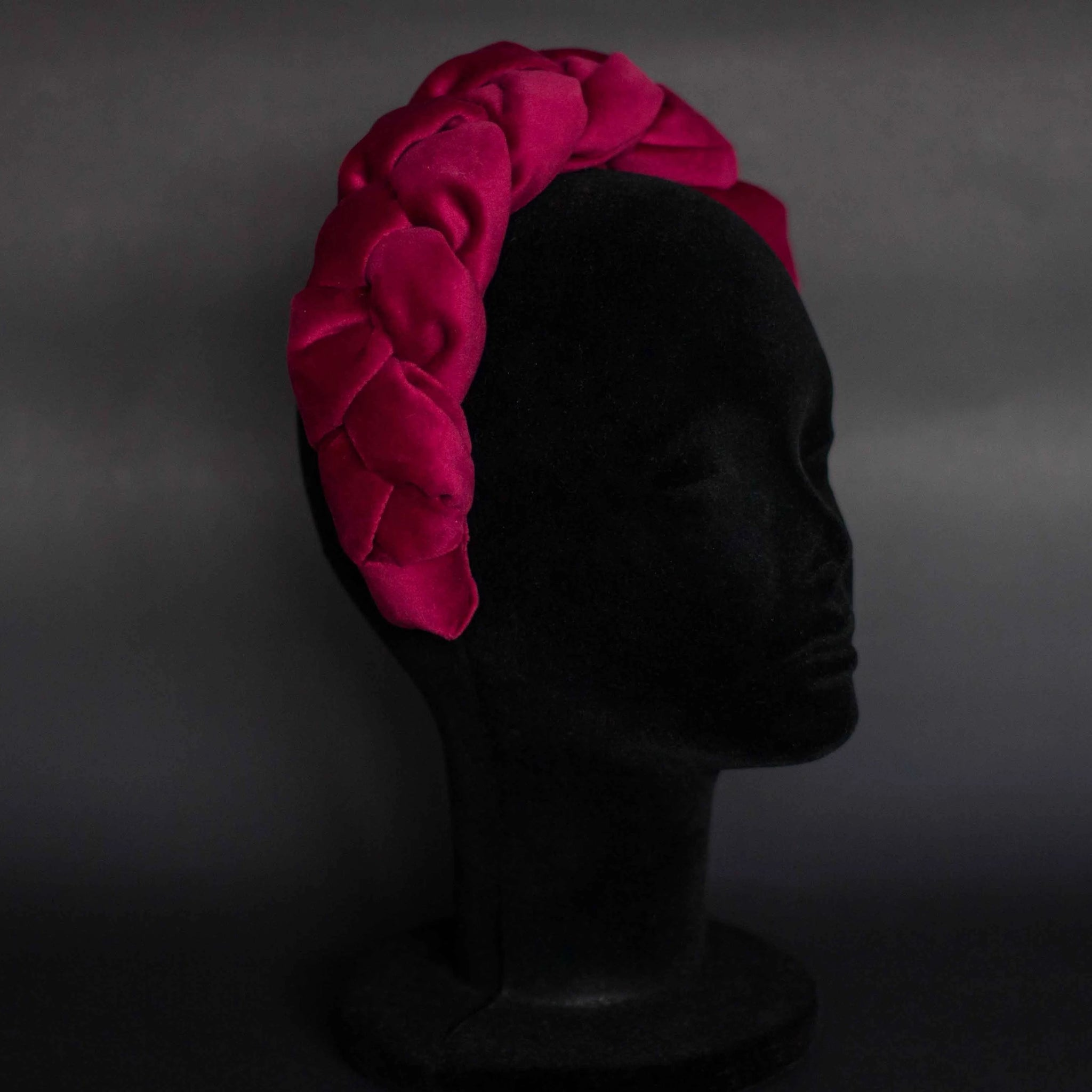 RENA headband in luxury red