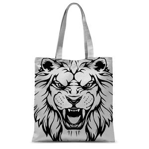 Roaring Lion Tote Bag Classic Sublimation