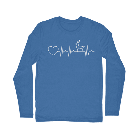Deer Heartbeat Long Sleeve T-Shirt Classic