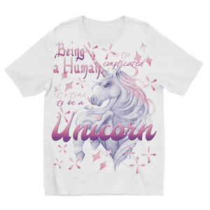 Time to be a Unicorn Kids T-Shirt Sublimation