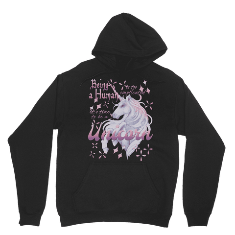 Time to be a Unicorn Hoodie Classic