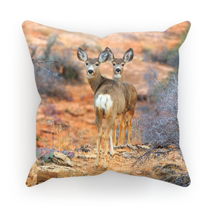 Arizona Mule Deer Cushion Cover