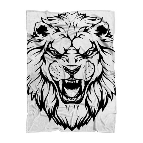Roaring Lion Blanket Sublimation